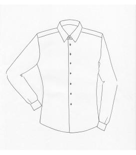 Disegnare online camicia su misura con iniziali