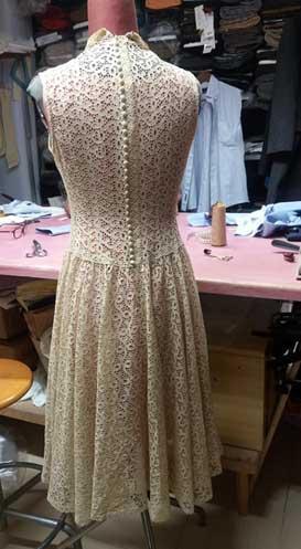 Riparazione speciale vestito d'epoca